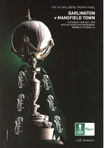 2011 FA TROPHY FINAL - DARLINGTON v MANSFIELD TOWN